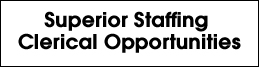 Superior Staffing Job Opportunities Link